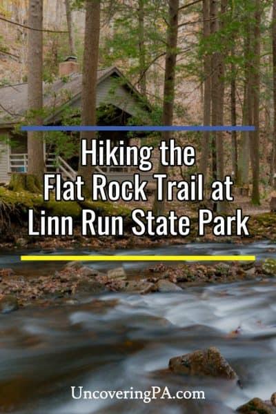 Hiking in Linn Run State Park