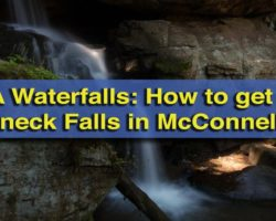 How to get to Breakneck Falls in McConnells Mill State Park