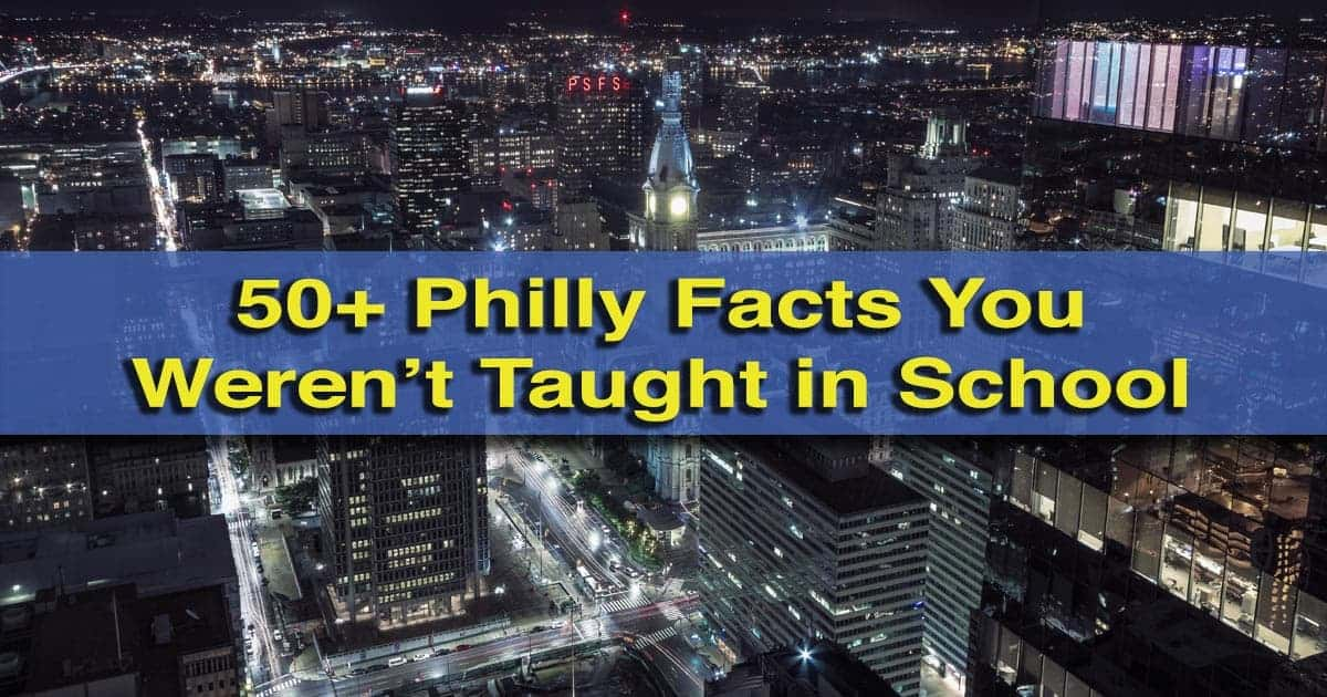Philadelphia Facts
