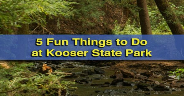 Things to do in Kooser State Park
