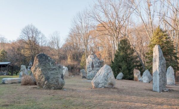 Pennsylvania's Stonehenge at Columcille Megalith Park