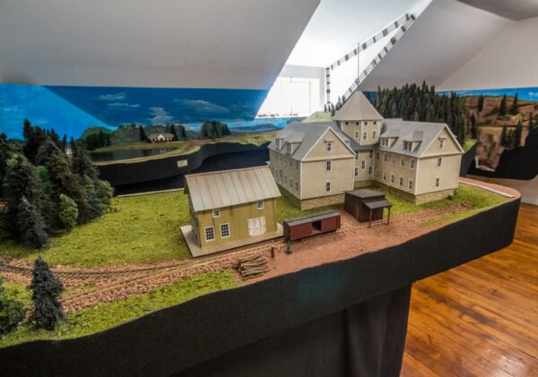 Model Railroad at the Eagles Mere Museum in Pennsylvania's Endless Mountains