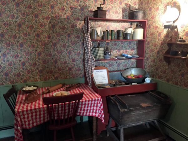 Kitchen at Jennie Wade House in Gettysburg, PA
