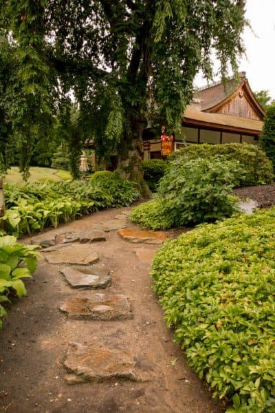 Japanese Gardens in Fairmount Park in Philadelphia, Pennsylvania