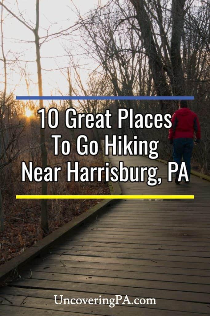 Hiking near Harrisburg, Pennsylvania