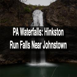 Hinkston Run Falls near Johnstown