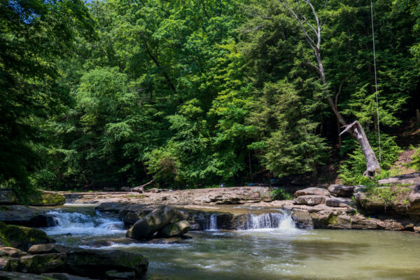 Buttermilk Falls near Kittanning PA