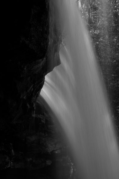 Behind Cucumber Falls - Ohiopyle State Park Photography Workshop