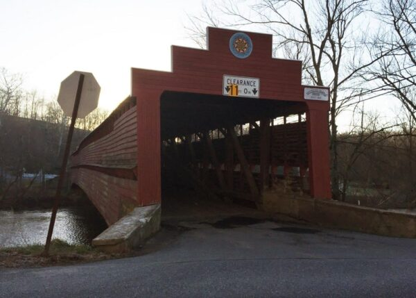 Dreibelbis Covered Bridge in Berks County, PA