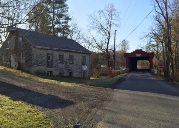 How to get to Kutz Mill Covered Bridge near Kutztown, PA