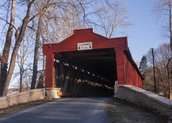 Kurtz's Mill Covered Bridge is located near Kutztown University