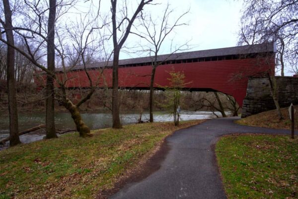 Wertz's Covered Bridge in Reading, Pennsylvania