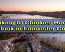 Hiking to Chickies Rock in Lancaster County, PA