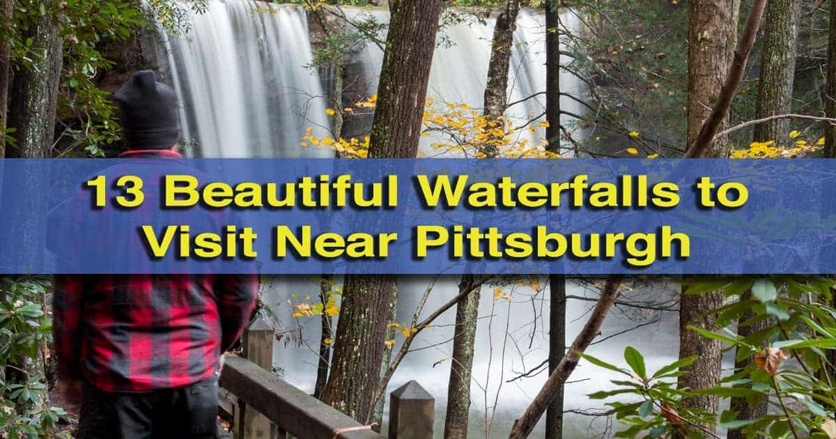 Waterfalls near Pittsburgh, PA