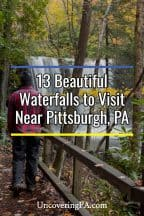 Waterfalls near Pittsburgh, Pennsylvania