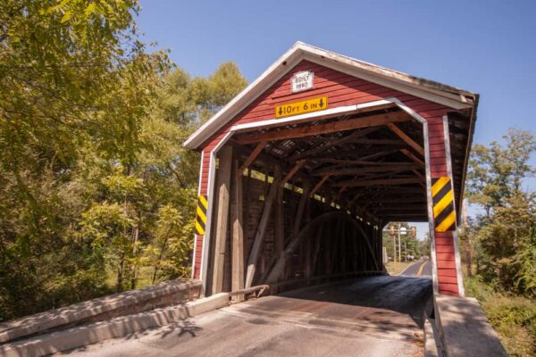Jacks Covered Bridge near Gettysburg, Pennsylvania