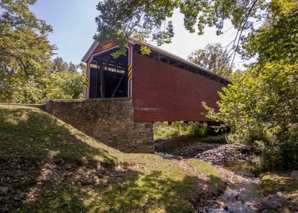 Jacks Mountain Covered Bridge near Gettysburg, PA