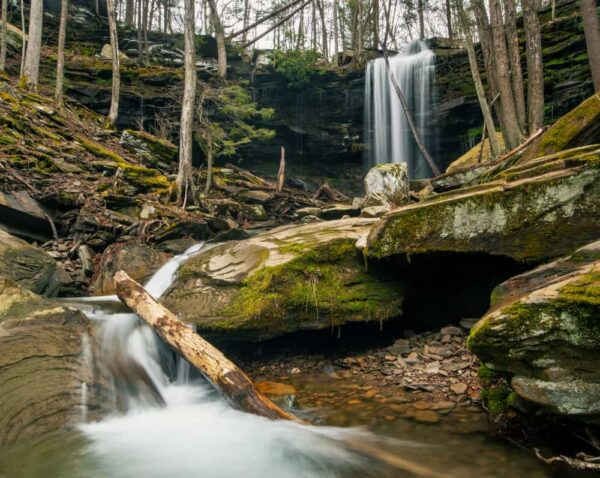 Hiking to Jacoby Falls in Loyalsock State Forest