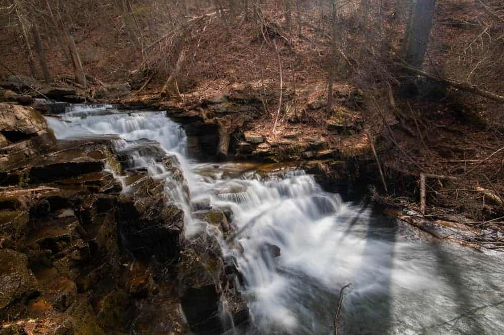 Hiking to Jarrett Falls in Fulton County, PA