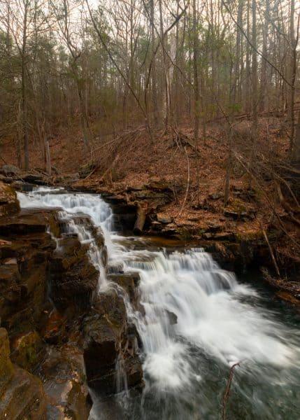 Jarrett Falls in Pa