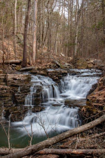 How to get to Jarrett Falls near McConnellsburg, PA