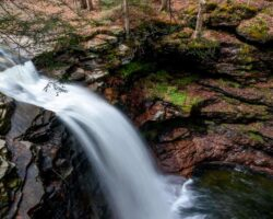 Pennsylvania Waterfalls: The Falls of Heberly Run in State Game Lands 13