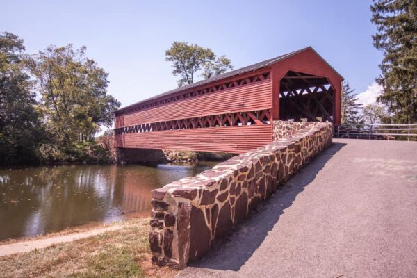 Sachs Covered Bridge in Adams County, Pennsylvania