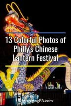Photos of the Chinese Lantern Festival in Philadelphia, Pennsylvania