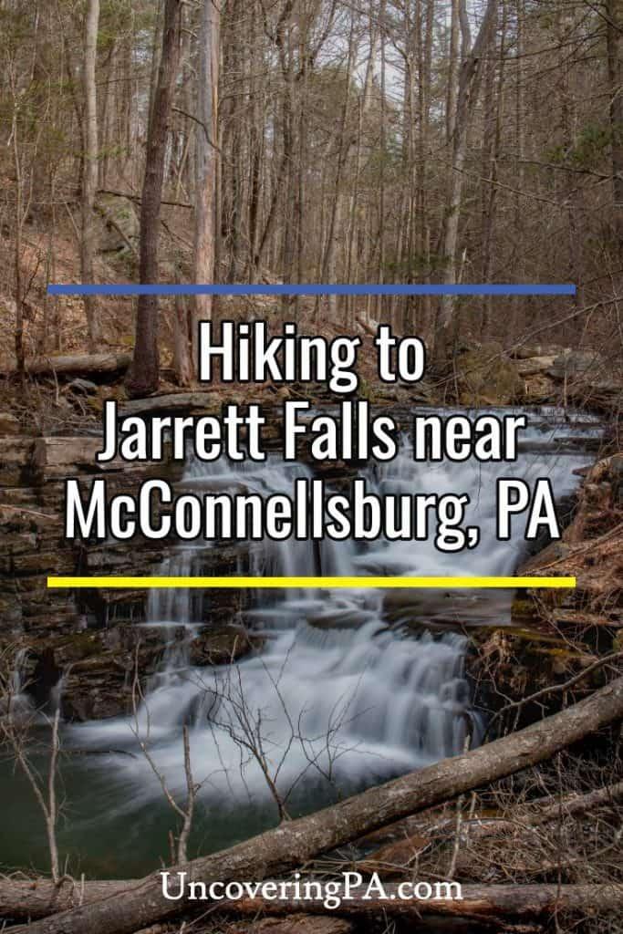 Jarrett Falls near McConnellsburg, Pennsylvania