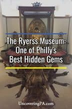 Visiting the Ryerss Museum in Philadelphia, Pennsylvania