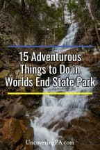 Things to do in Worlds End State Park in Pennsylvania