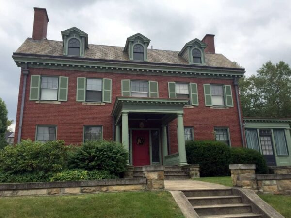 Mister Rogers' childhood home in Latrobe, Pennsylvania