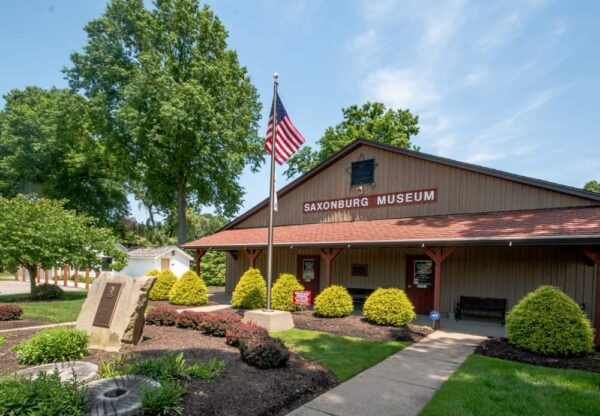 The Saxonburg Museum in Butler County, Pennsylvania