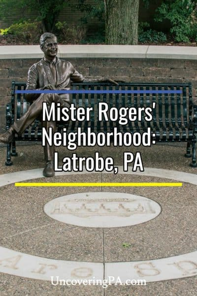 Mister Rogers in Latrobe, PA
