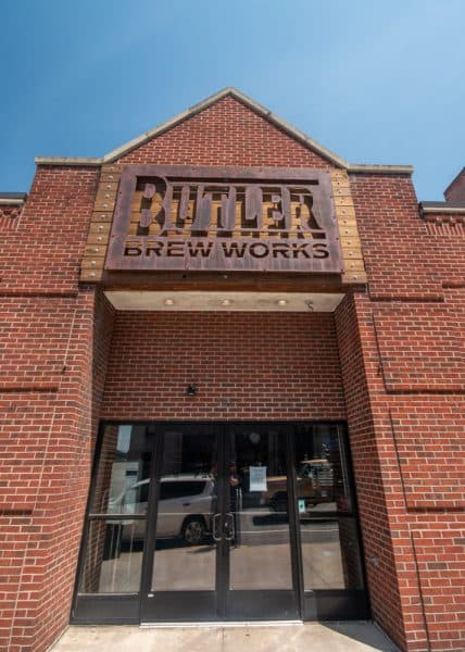 Exterior of Butler Brew Works in Butler, PA