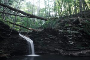Pennsylvania Waterfalls: Hiking to Cottonwood Falls in Worlds End State Park