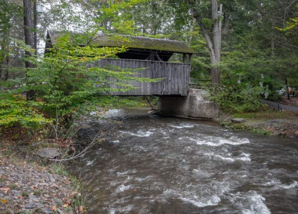 Covered bridges at Knoebels