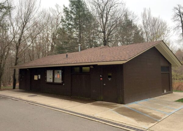 Bathrooms at the Ricketts Glen State Park Campground