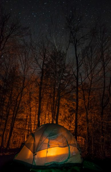 Camping at Ricketts Glen State Park