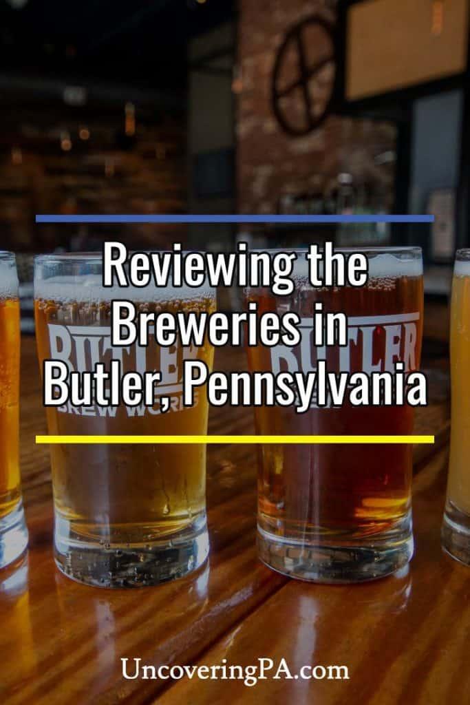 Breweries in Butler Pennsylvania