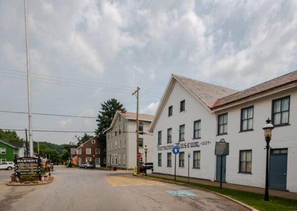 The Harmony Museum in Butler County, PA