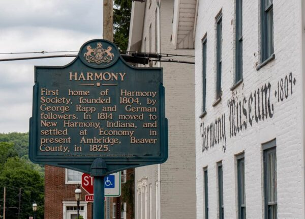 Visiting the Harmony Museum in Butler County, PA