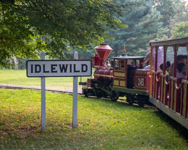 train ride at Idlewild and SoakZone in Ligonier, PA