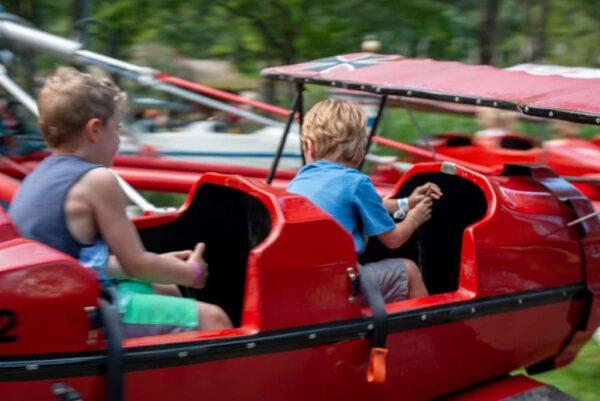 Red Baron ride at Idlewild