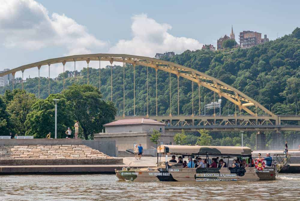 Review of Just Ducky Tours in Pittsburgh, PA