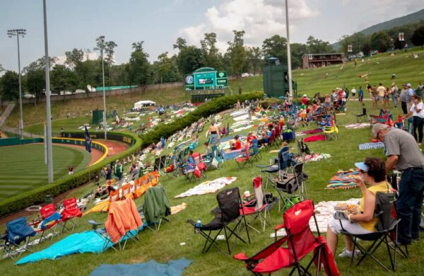 Hillside at Lamade Stadium in South Williamsport, PA