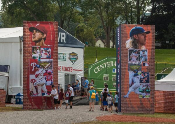 Family Fun Zone at the Little League World Series in PA