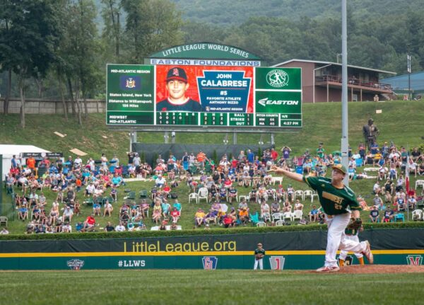The Little League Worlds Series in Williamsport is a great getaway in PA for sports fans