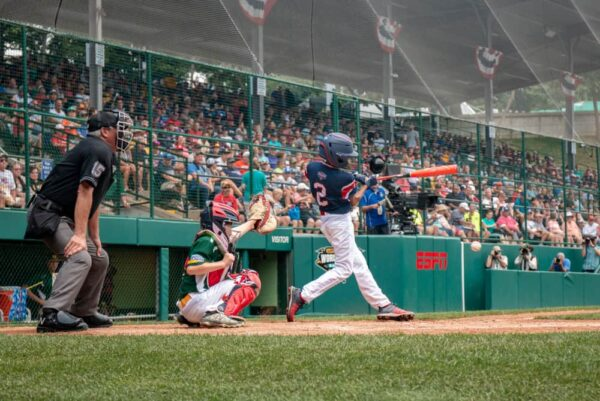 Games at the Little League World Series in South Williamsport, Pennsylvania