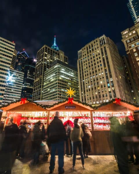 Christmas Nighttime Photography Workshop in Philadelphia, PA